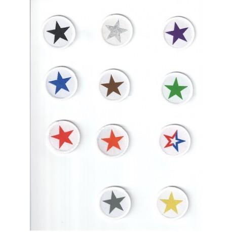 Taekwon-do Star badges