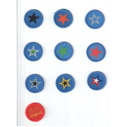 Little Puma Star Badges