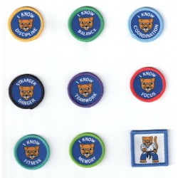 Little Puma Theme Badges